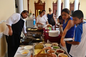 buffet desayuno mision panamericana