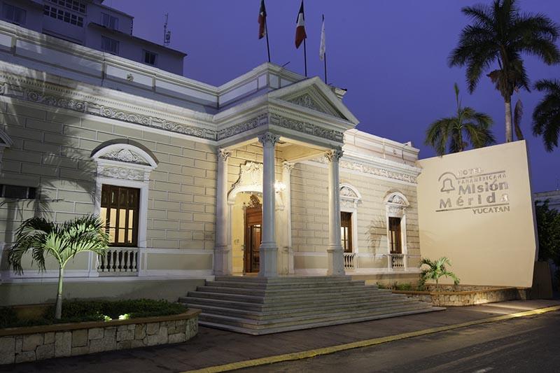 hotel mision panamericana fachada