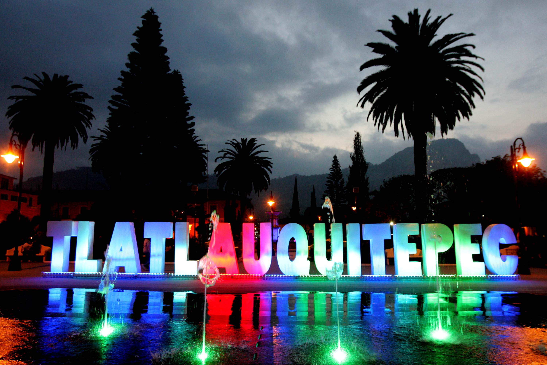Vista del centro de Tlatlauquitepec