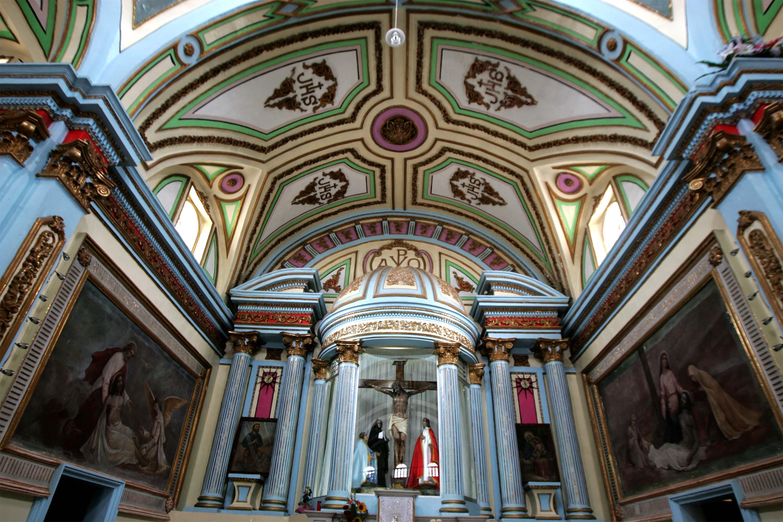 Interior del Santuario del Señor de Huaxtla