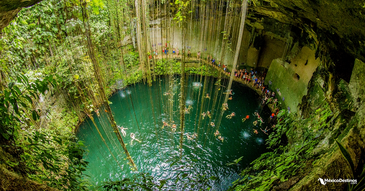 Resultado de imagen de cenotes yucatan