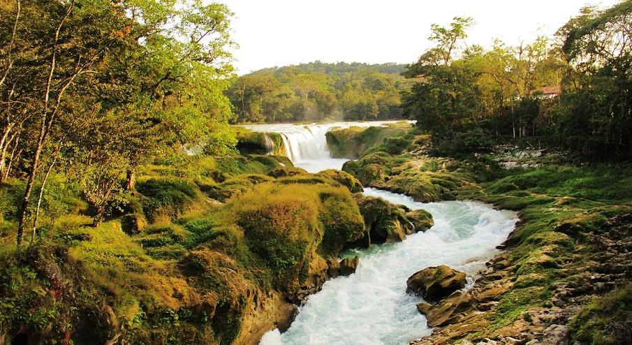 Cascadas Las Nubes, Chiapas una vuelta al Paraíso