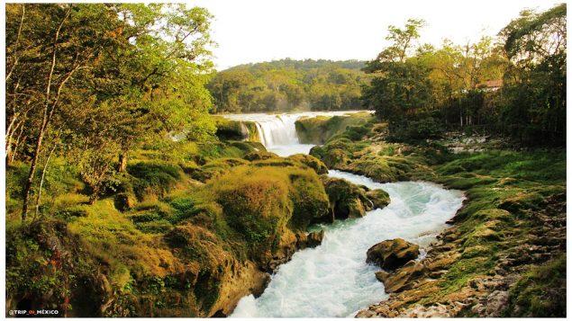 Cascadas las Nubes Chiapas