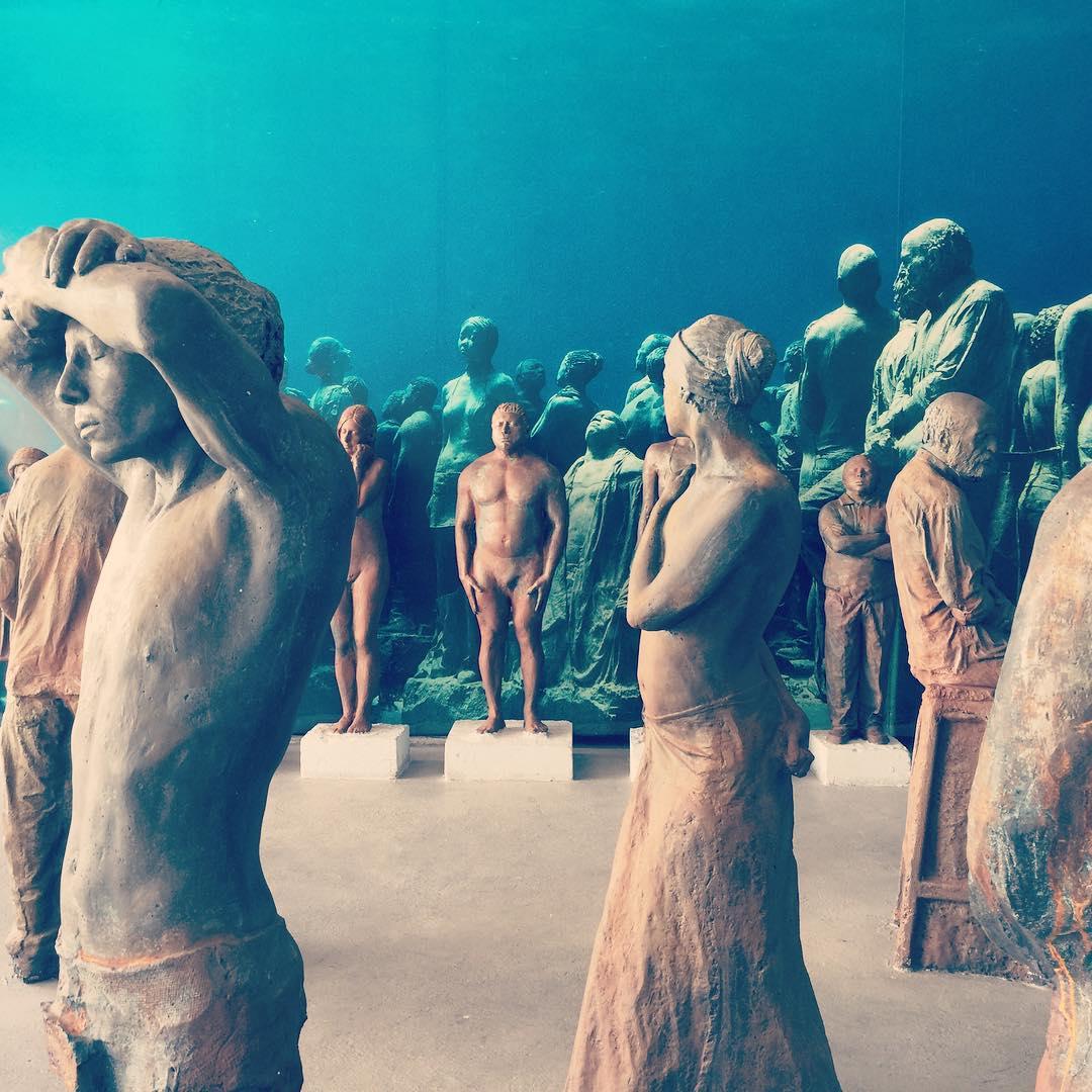 Museo Subacuatico de Arte en Cancun