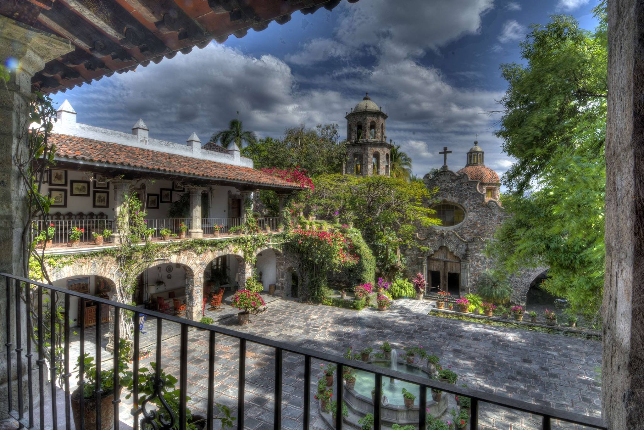 10 Haciendas antiguas y bonitas de México
