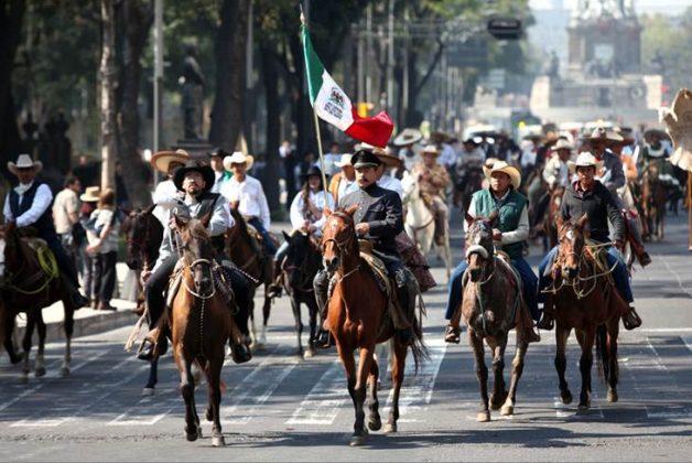 Día de la Revolución Mexicana, desfile