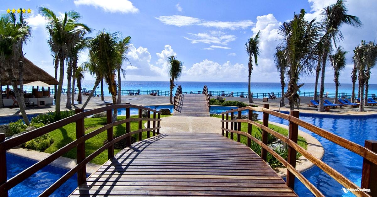 Grand Oasis Cancún: 21 Restaurantes & Bares, Alberca de 300 Mts., y además ¡Todo Incluido!