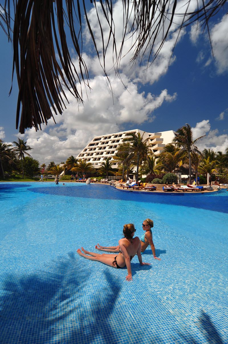 Hotel Grand Oasis Cancun - Alberca
