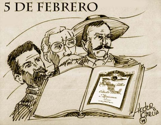 dia de la constitución mexicana