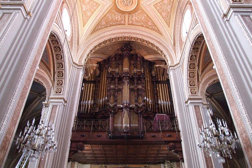 órgano de la catedral de Morelia