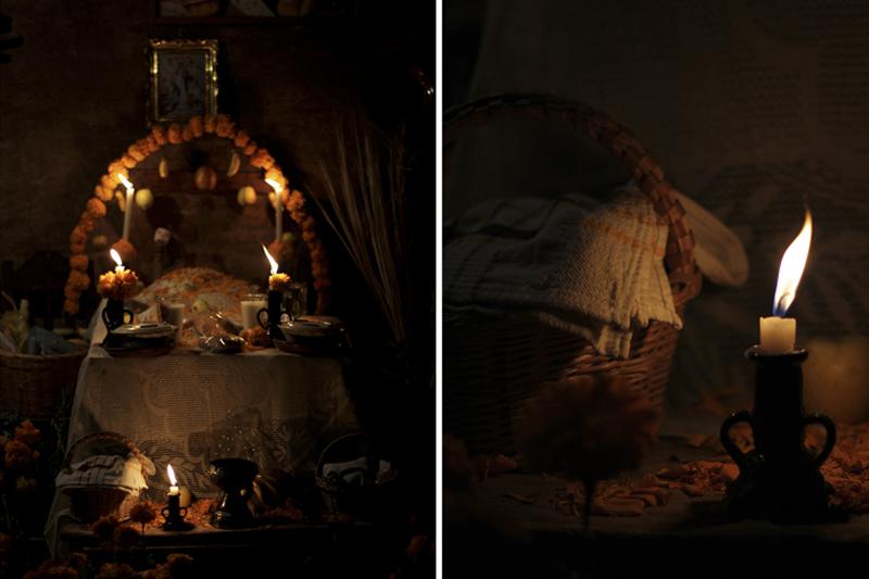 Altar de muertos Janitzio