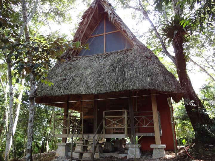Cabañas Santuario del Cocodrilo Tres Lagunas Chiapas