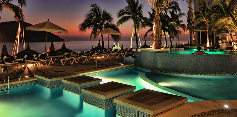 Hotel Oceano Palace en Mazatlan