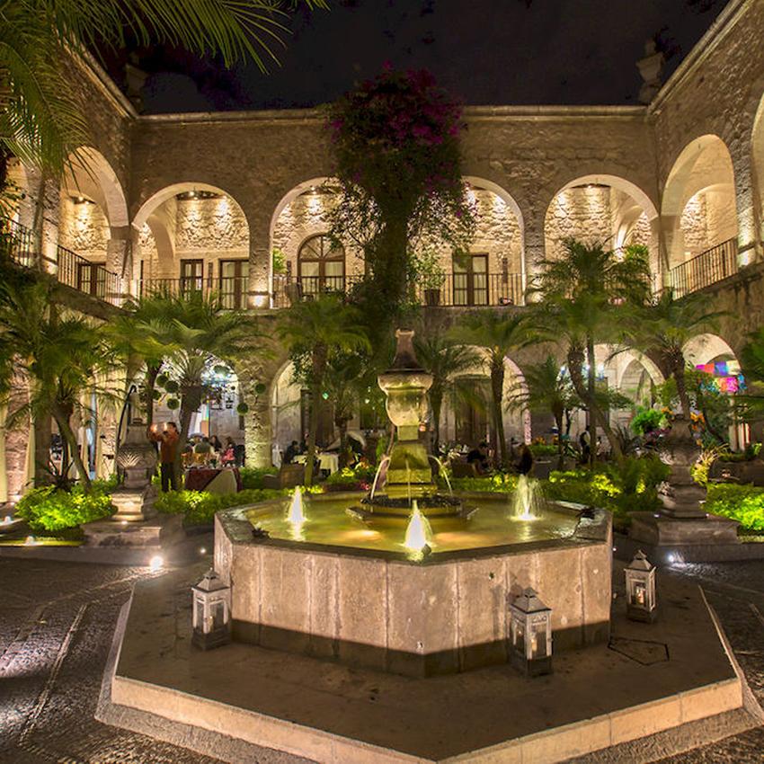 Hotel de la soledad en Morelia