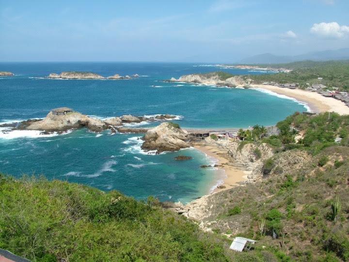 Vista Playa el Faro de Bucerias Michoacan