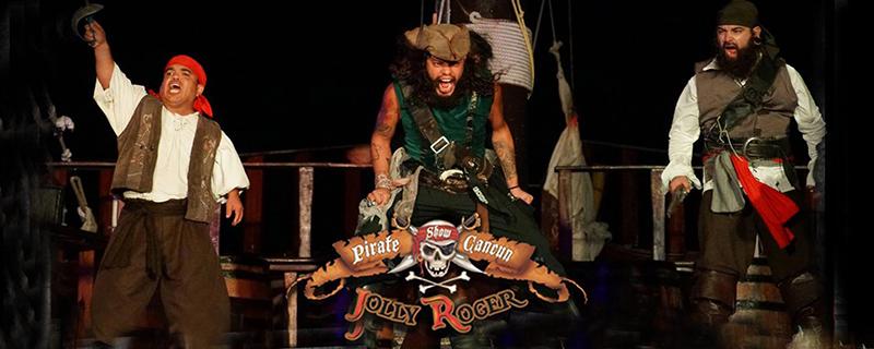 disfruta del Pirate Show Cancún Jolly Roger con estos paquetes de viajes