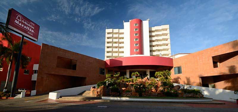 hotel mision Mazatlan, en paquetes de viajes