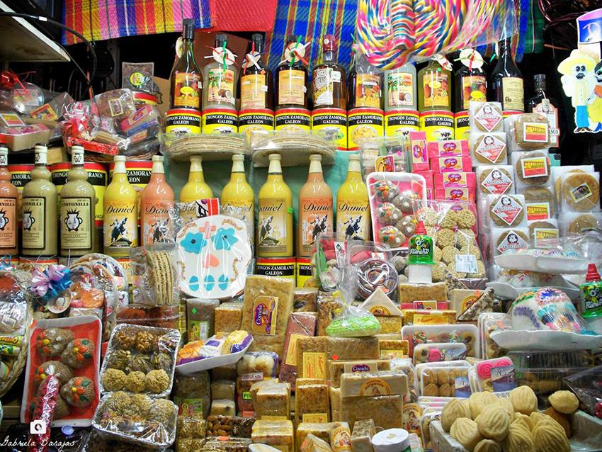 mercado de dulces morelia