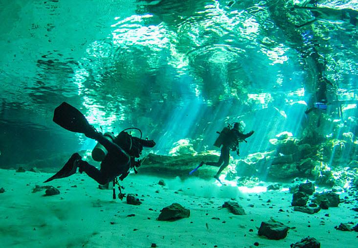Tours Buceo en Cenotes Cancun