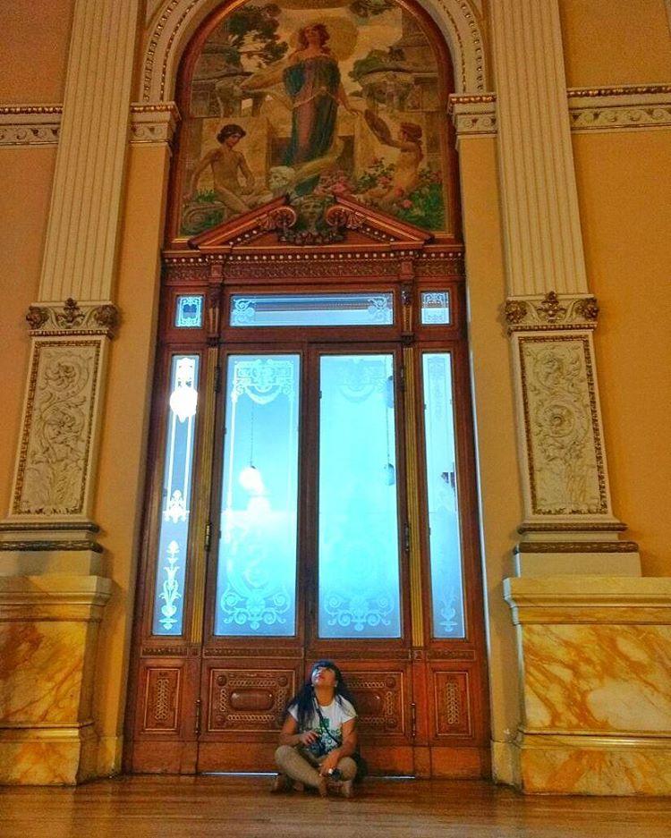 Salon de Recepciones MUNAL Museo Nacional de Arte Ciudad de Mexico