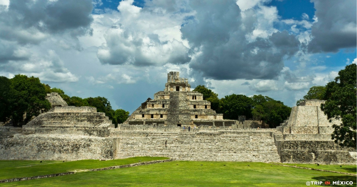 Edzna Campeche Zona Arqueologica