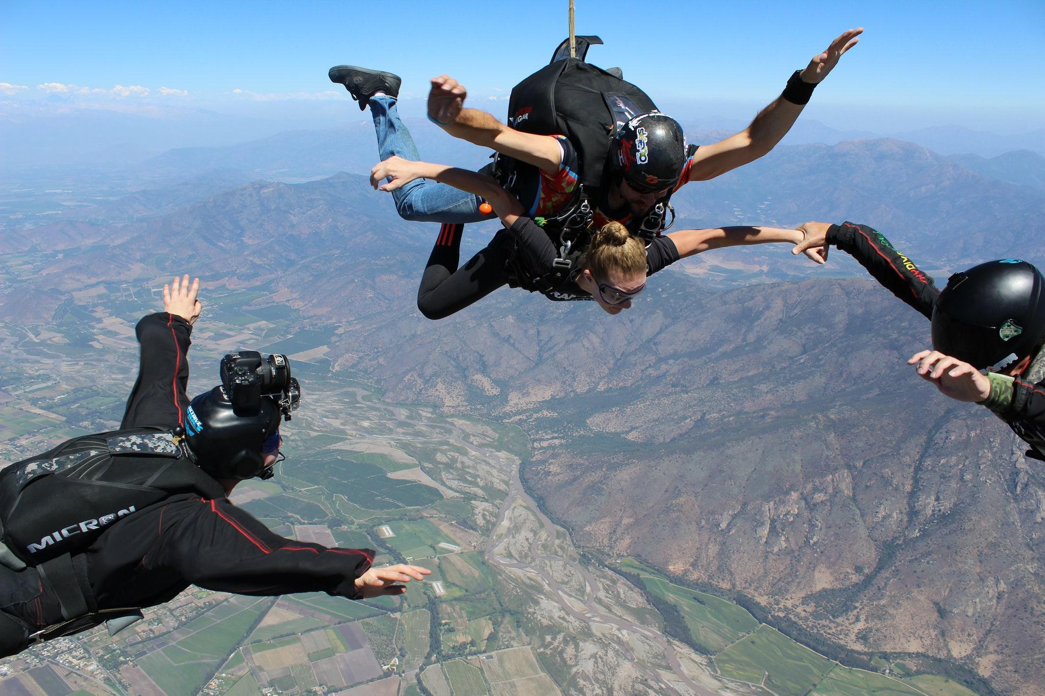 Paracaidismo - salto Tandem