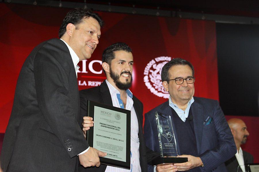 Cancún Gana Premio Nacional del Emprendedor 2016 con MéxicoDestinos.com