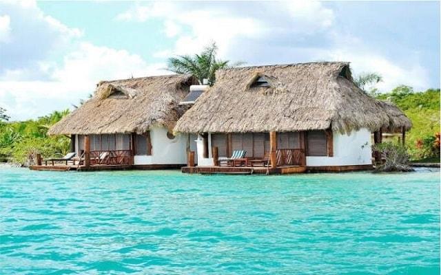 Hotel en Bacalar a la orilla de la Laguna