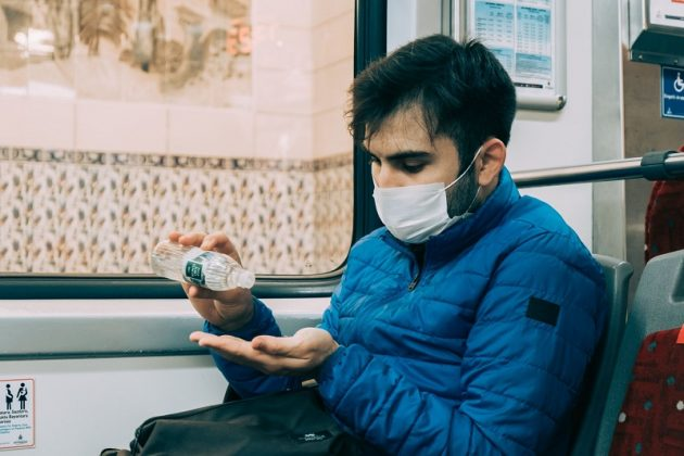Viajar en autobús en la pandemia